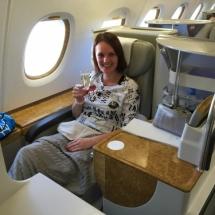 Business Class - Hinflug Bangkok