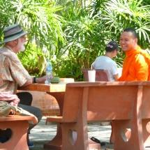 Wat Phra Singh - Monk