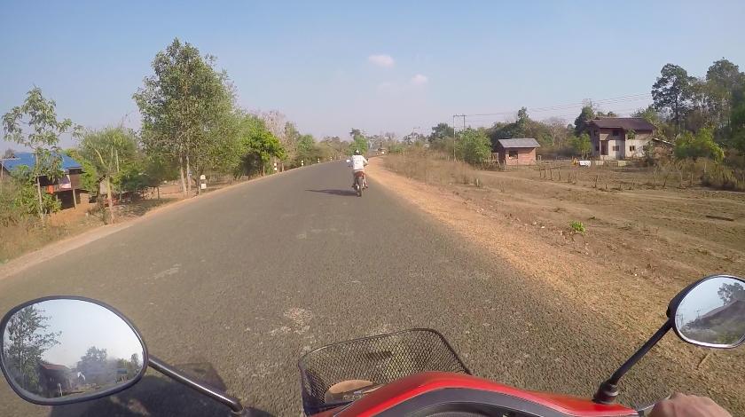 Scooter fahren