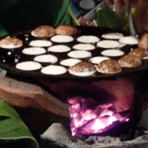 Coconut Pancakes on the Market in Luang Prabang