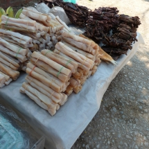 Food Market in Luang Prabang