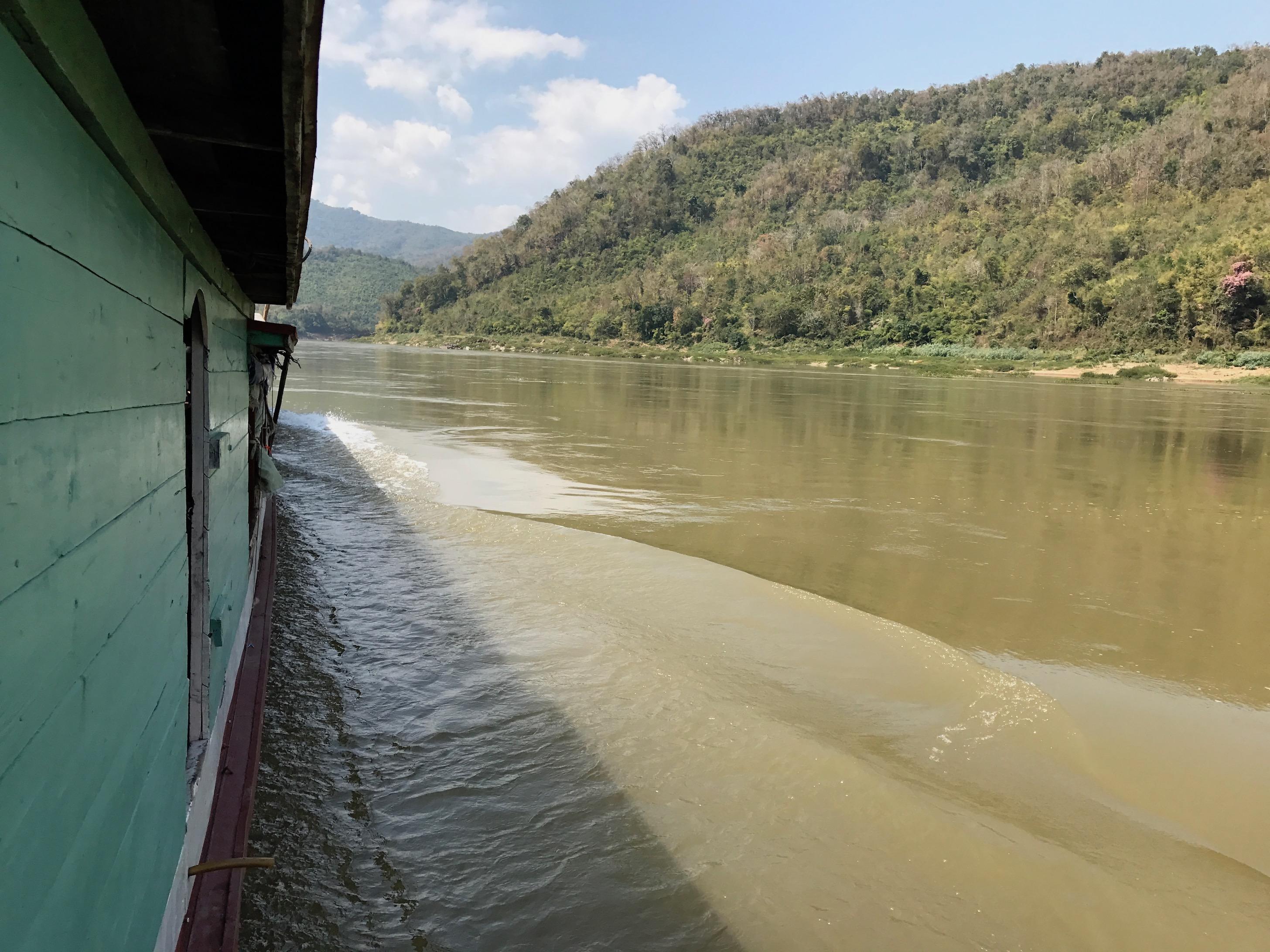Slow Boat Fahrt