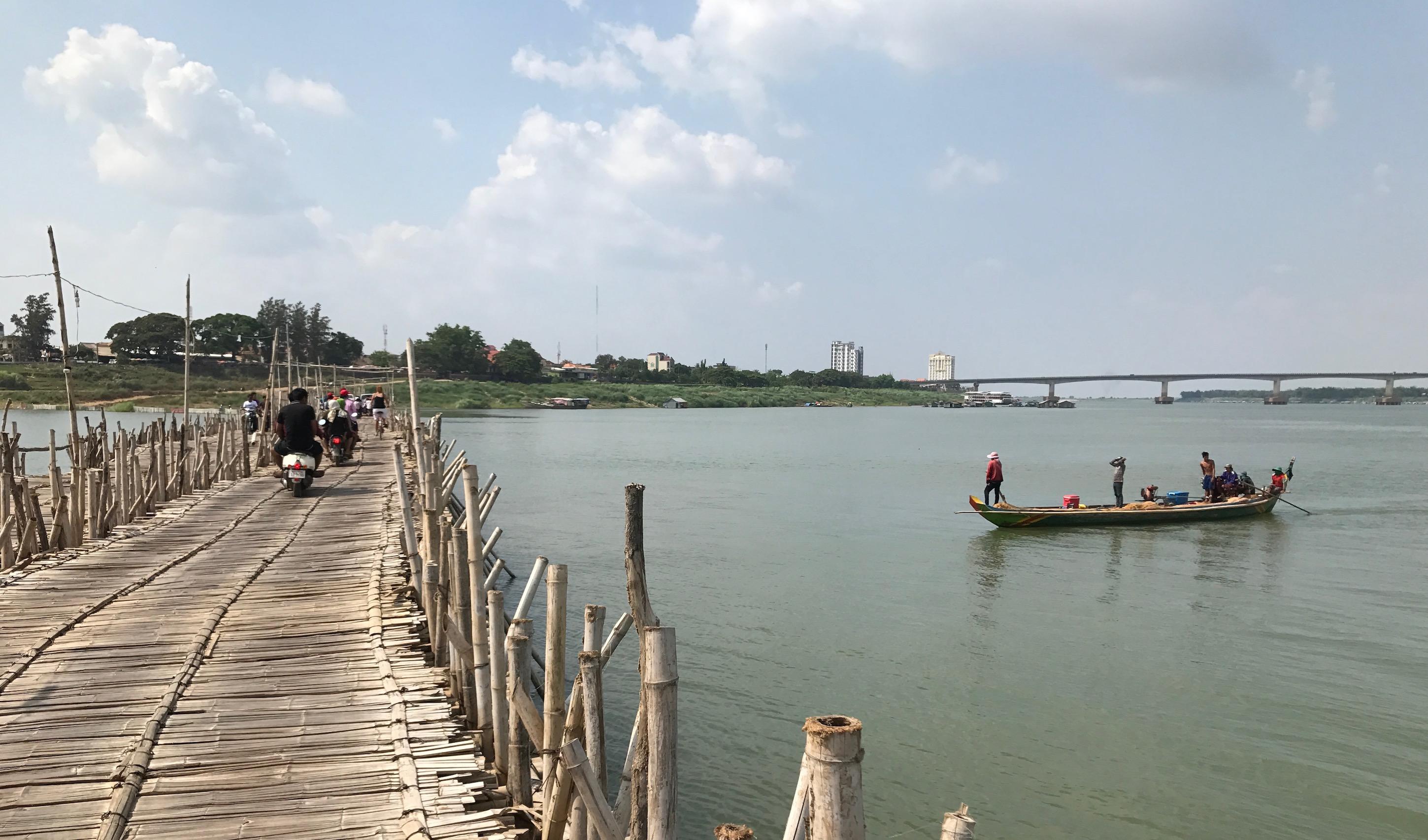 Bamboobridge Kampong Cham