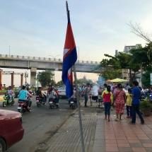 Straßenszene Kampong Cham