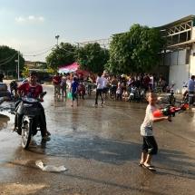 Wasserschlacht in Kampong Cham