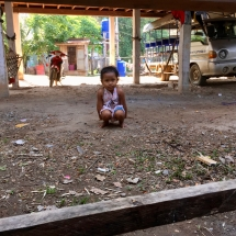 kid in Ban Hang Khone