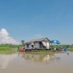 Schwimmendes Dorf Kampong Chhnang