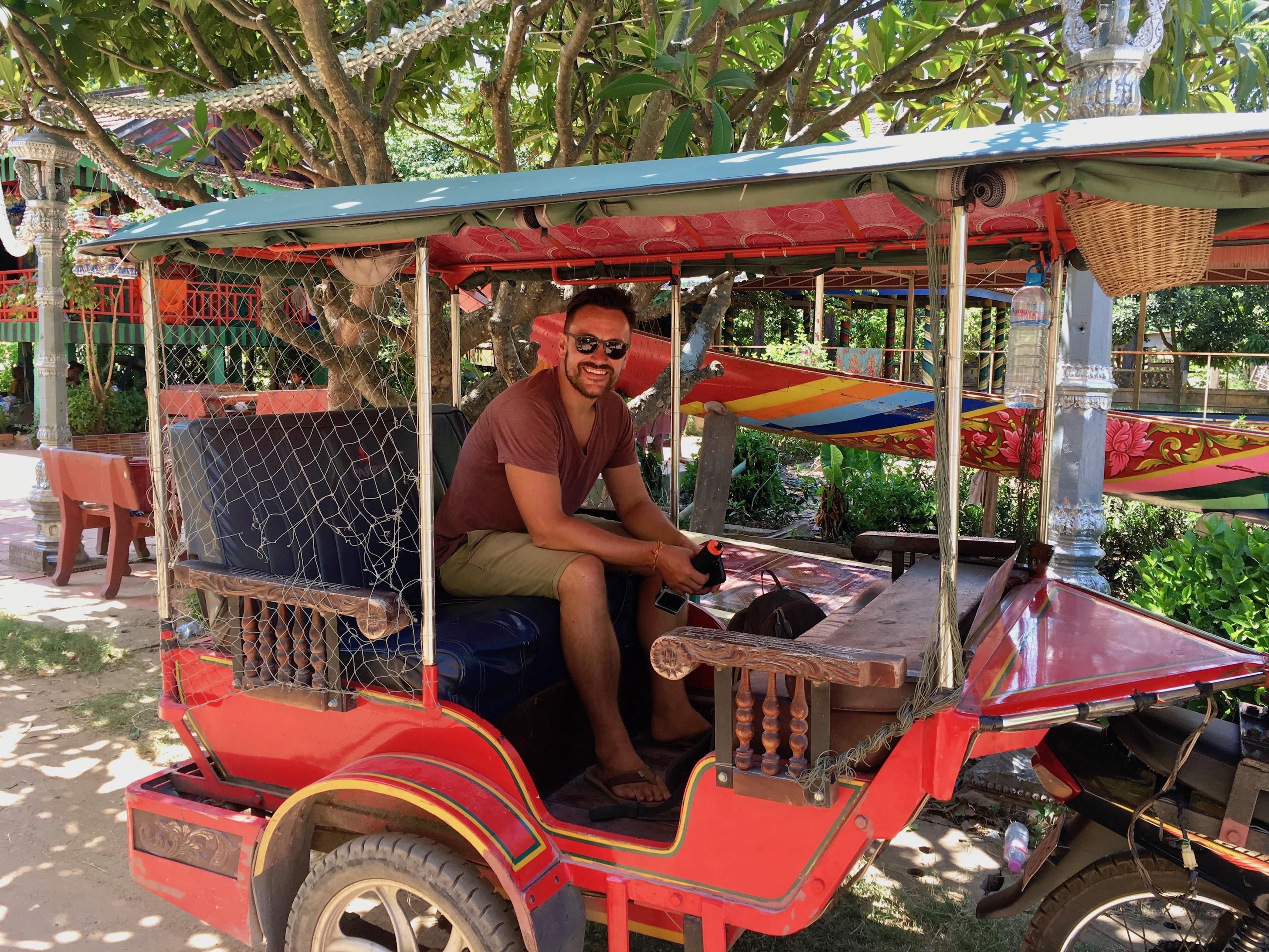 Tuk Tuk fahren in Phnom Penh