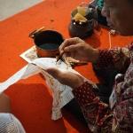 Traditionelle Batik-Kunst