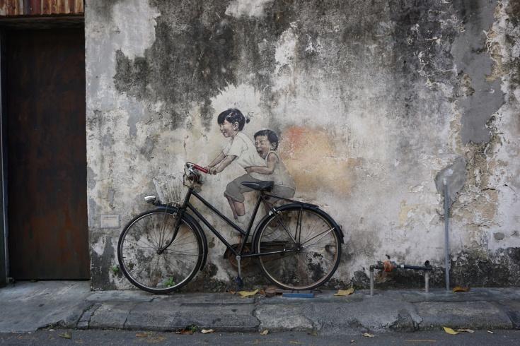 George Town Street Art Bike