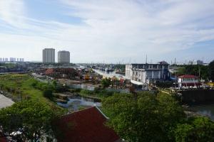 Hafen Jakarta - Aussichtsturm