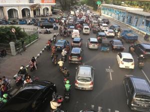 Stau in Jakarta