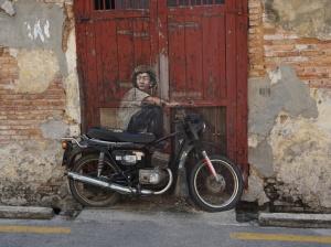 Street Art Bike George Town