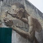 Street Art Mann George Town