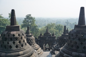 Yogyakarta Aussicht Borobodur