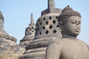 Yogyakarta Borobodur Buddha Nah