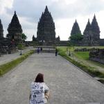 Yogyakarta Prambanan Ansicht