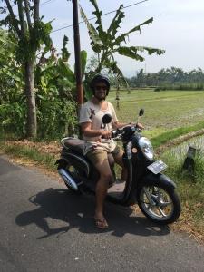 Yogyakarta Scooter Fahrt
