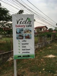 Vida Café in Laos